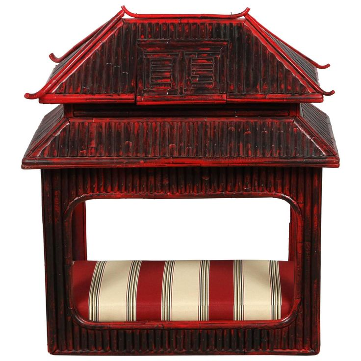 furniture dog bed. 1st dibs pagoda style bamboo dog bed furniture