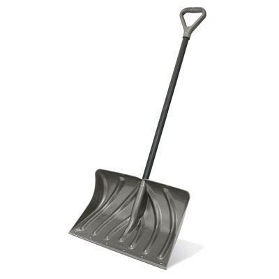 Suncast 20-in Deluxe Combo Snow Shovel
