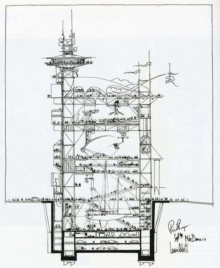 Richard Rogers. Japan Architect 7 Summer 1992: 222 | RNDRD