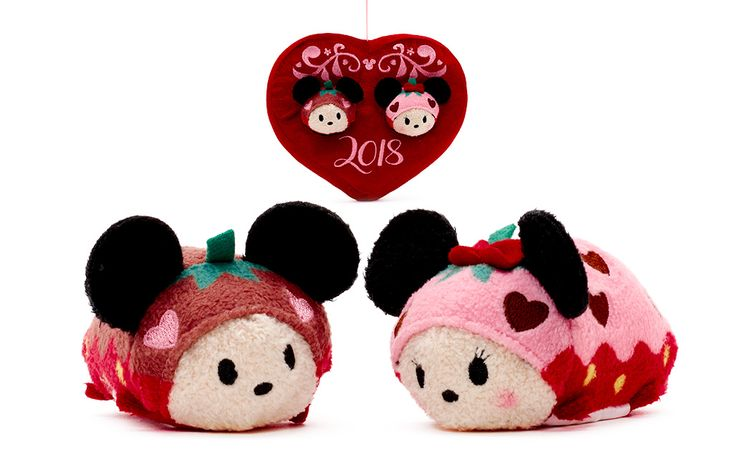 Love is in the Air with the New 2018 Valentine's Day Tsum Tsum Set