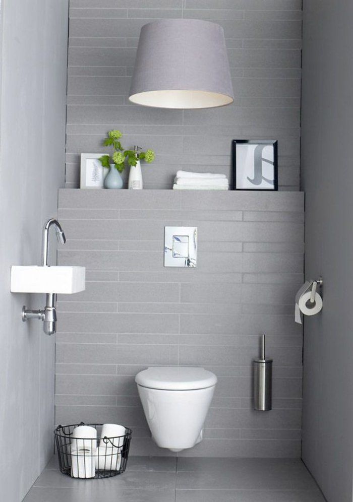 495 best salle de bain images on Pinterest Bathroom, Half - petit meuble salle de bain pas cher