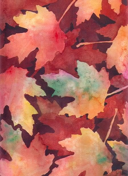 wc leaves by Elizabeth Remy