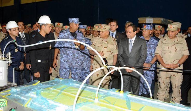 Video | President Abdel Fattah al-Sisi  witness maneuver with masts