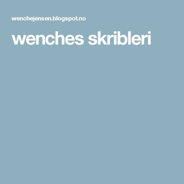 wenches skribleri