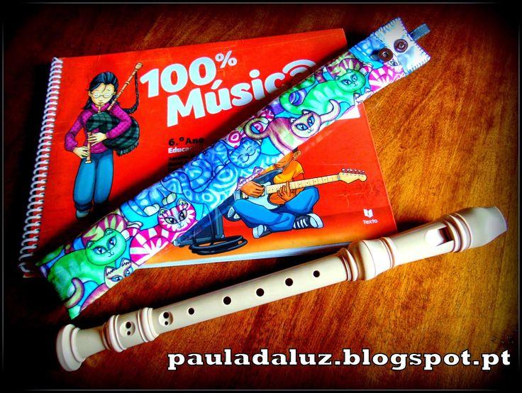 Paula LUZ: Estojo para a flauta
