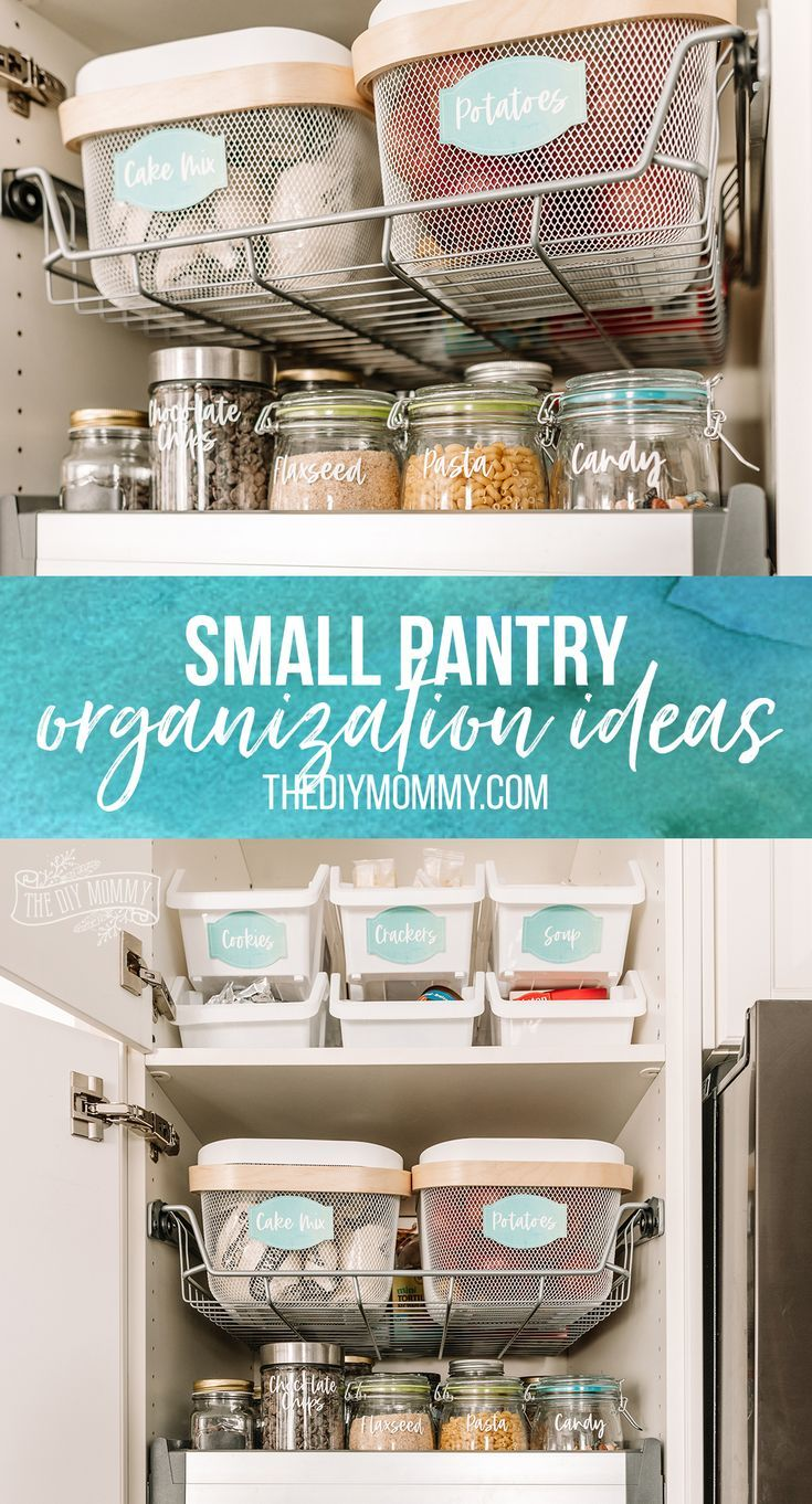 Small Pantry Organization Ideas The Diy Mommy Small Pantry Organization Small Pantry Pantry Organization