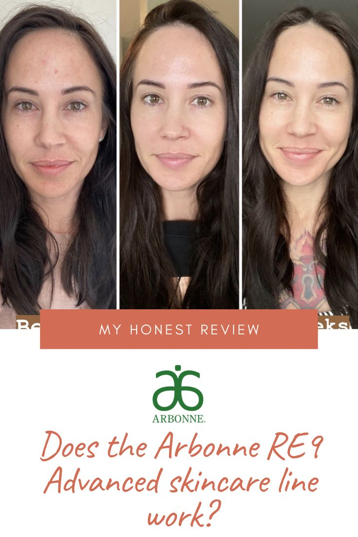 Wondering if the Arbonne RE9 Skincare line works? Check