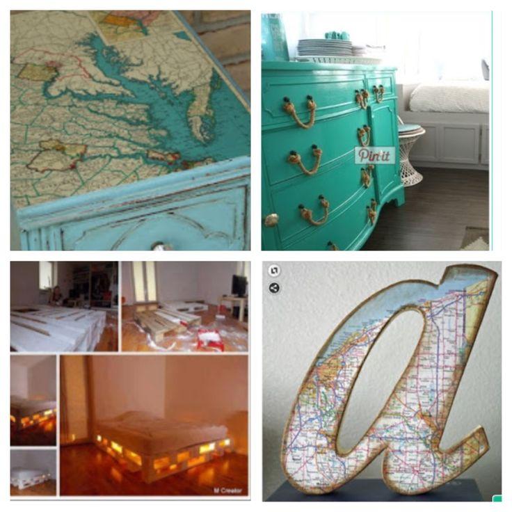 Coastal Bedroom DIY Crafts Pinterest
