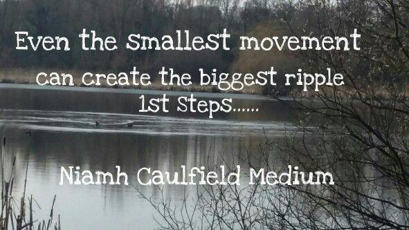 #1ststeps #keepgoing #niamhcaulfieldmedium