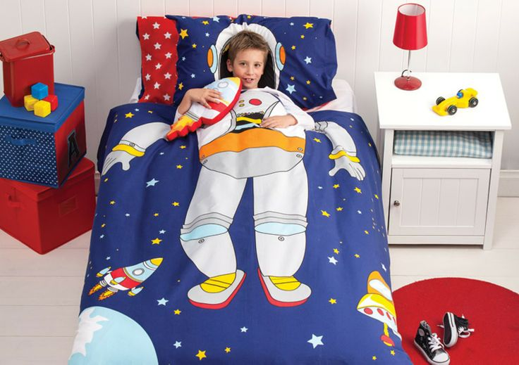 Spaceman Kids Duvet Set by Cubby House Kids from Harvey Norman NewZealand