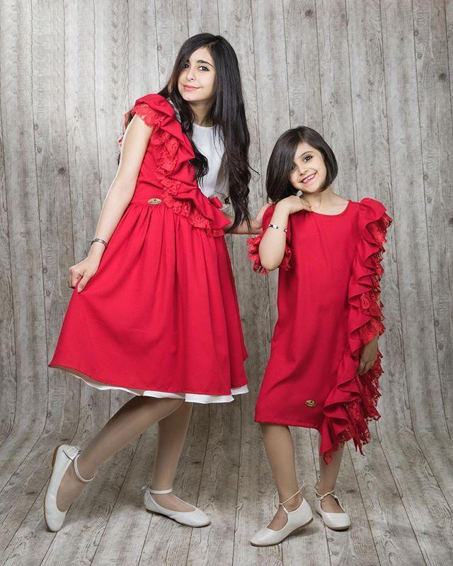 وله وغاده السحيم Muslim Fashion Outfits Kids Dress Fashion Outfits