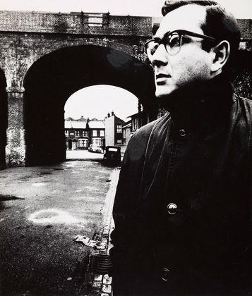 Bill Brandt. Harold Pinter, Battersea, London. 1961