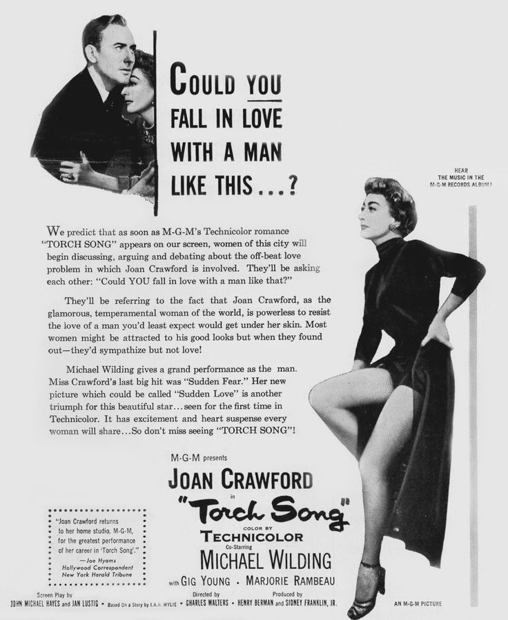 Torch Song ad