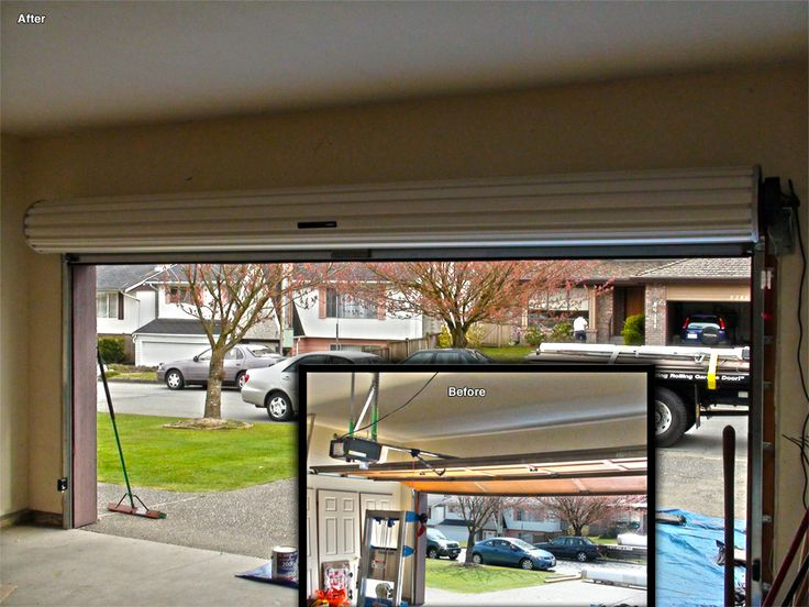 Roll Up Garage Doors Vancouver Overhead Door Smart Garage Garage Doors Shop Garage Doors Roll Up Garage Door