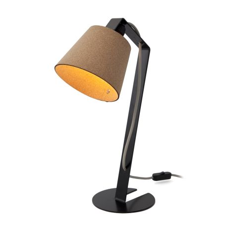 Desk Lamp with Shade – Black & Cork from Cork Deco Collection - R1,299 (Save 13%)