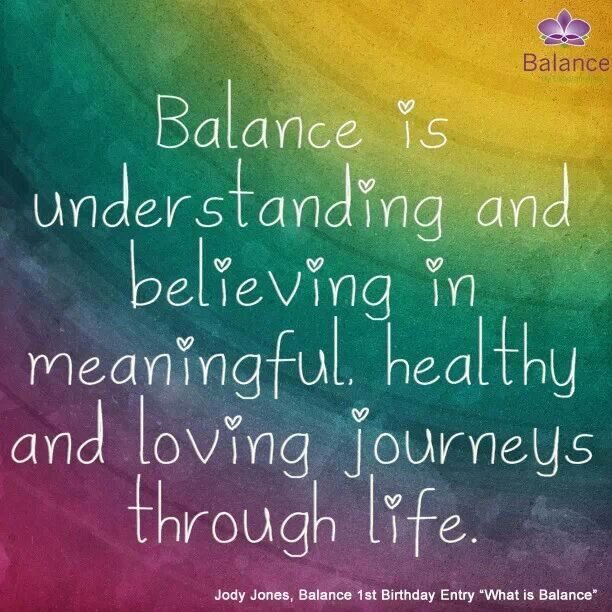 Love Quotes Balance. QuotesGram