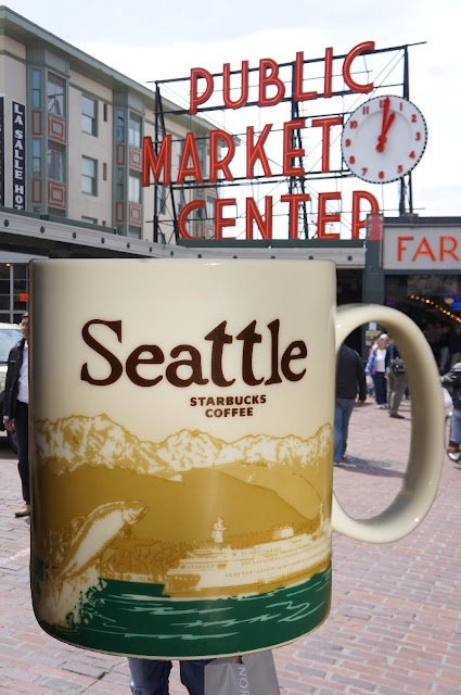 Seattle Starbucks mug --I want to buy a mug from Seattle so bad. At some point in my life, I'll go there and fulfill this want.