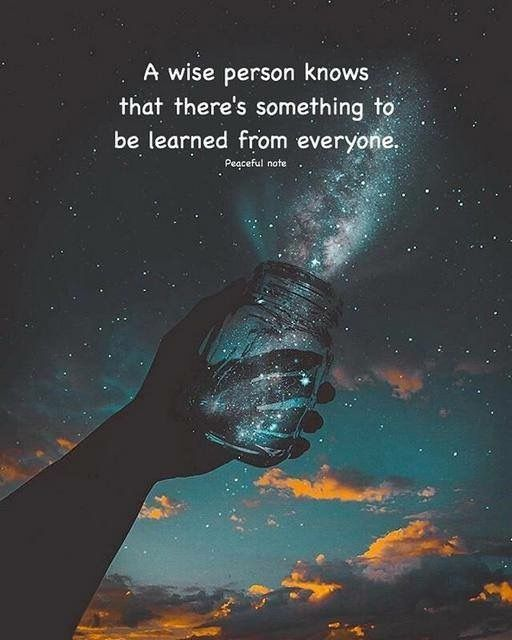 Learn from everyone