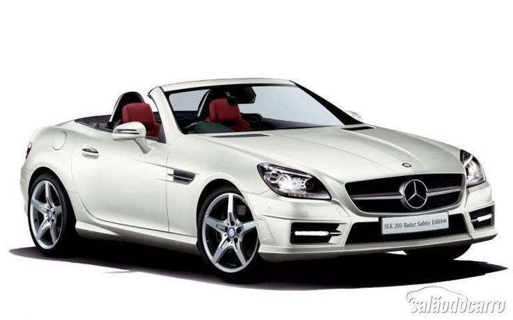 Mercedes-Benz apresenta SLK 200 Radar Safety Edition  » www.salaodocarro.com.br/lancamentos/mercedes-benz-slk-200-radar-safety-edition.html