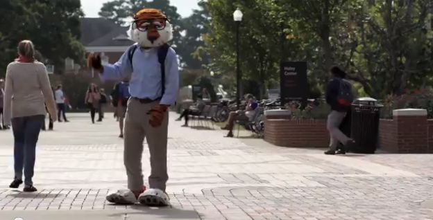 Written by Cole Locascio Today, it was announced by the UCA (Universal Cheerleaders Association) that Aubie has placed first in the video portion of the National Mascots Competition. The video portion of the contest accounts for half of the final overall score, which puts Aubie in a confident positi