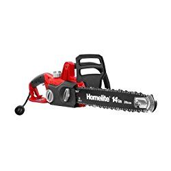 """Homelite PB40001 14"""" 9 Amp Electric Chainsaw Review 