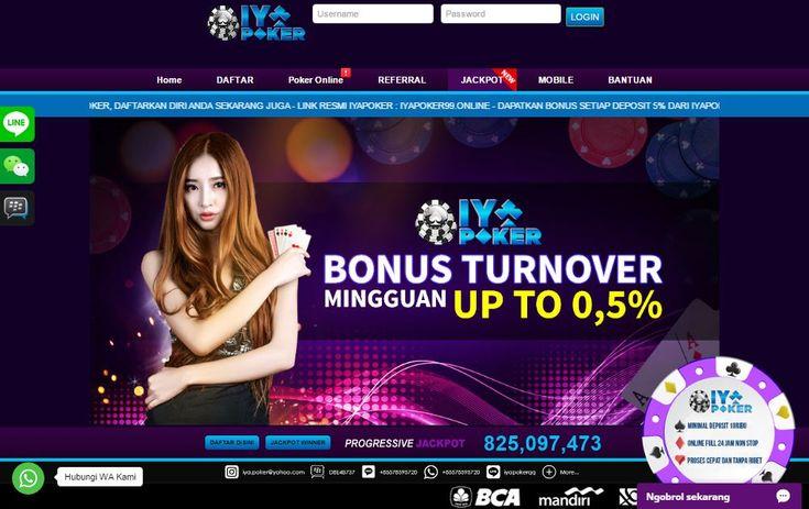Pin di Situs Poker & Trik Judi