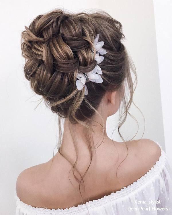 Derfrisuren.top top 20 wedding hairstyles ideas for 2017 trends #hairstyles #ideas #topmakeuppr wedding trends topmakeuppr Top ideas hairstyles