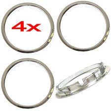 "4 Universal 15"" inch CHROME Beauty Trim Rings for Steel Wheel Rims Rim Edge Ring Now: $26.46."