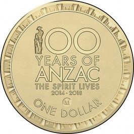 2014 $1 #ANZAC Spirit Lives M Counterstamp Circulating #Coin. The public will be invited to strike an 'M' counterstamp onto the 2014 $1 Circulating Coin - 100 Years of Anzac using the mobile press at the Shrine of Remembrance throughout the day on 11 November 2014. Direct Coins is pleased to present this rare opportunity to purchase this unique circulating design with 'M' counterstamp mark and to pay our respects on Remembrance Day.