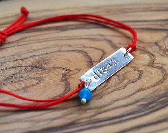 Sterling Silver Om Bracelet Mala bracelet by Cordisjewelry