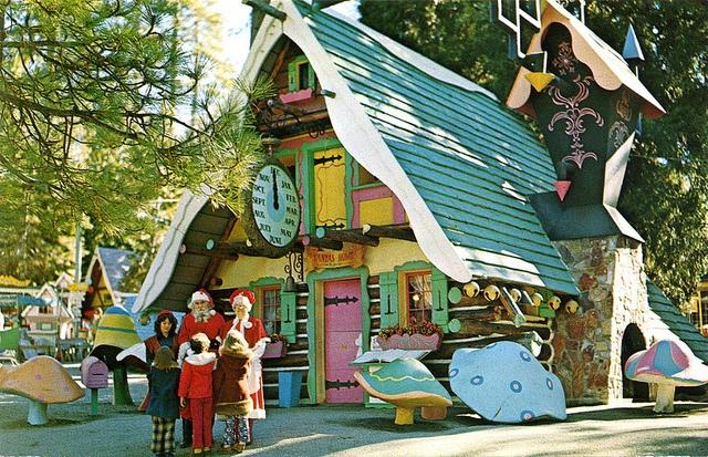 Santa's Village Skyforest CA Santa's House by mod*mom, via Flickr