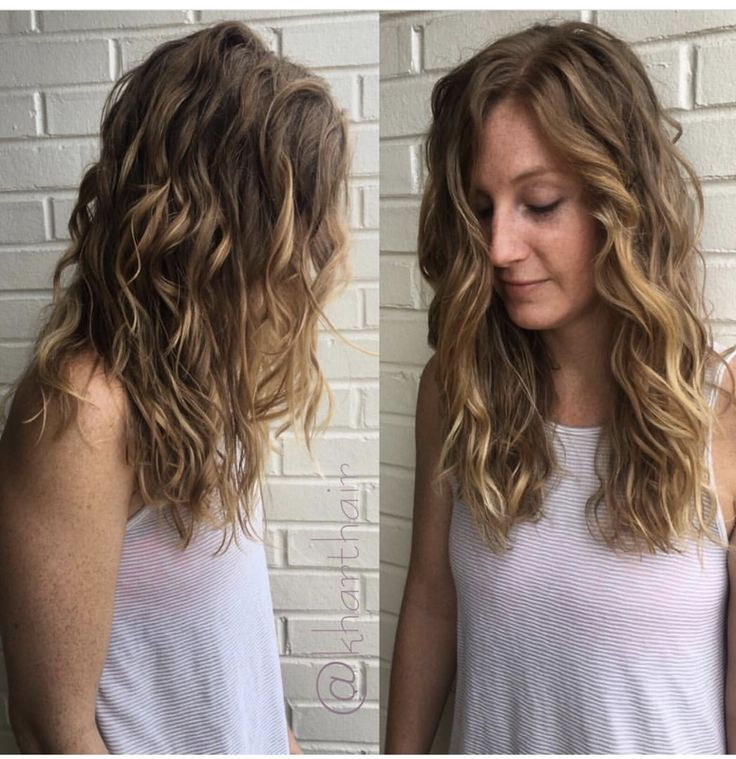 How To Style Permed Hair After Shower New Best 25 Loose Curl Perm Ideas On Pinterest  Beach Wave Perm .