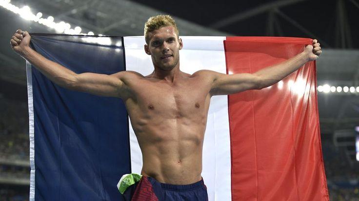 Kevin Mayer a remporté l'argent au décathlon aux Jeux Olympiques de Rio 2016