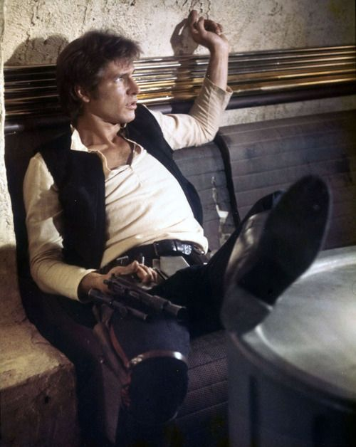 Solo. Not a worry in the world. Apart from Jabba the Hutt. Star Wars: Episode IV.
