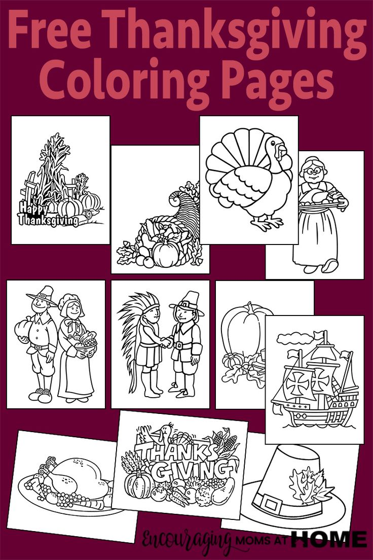 Coloring pages for donna flor - Free Thanksgiving Coloring Pages More