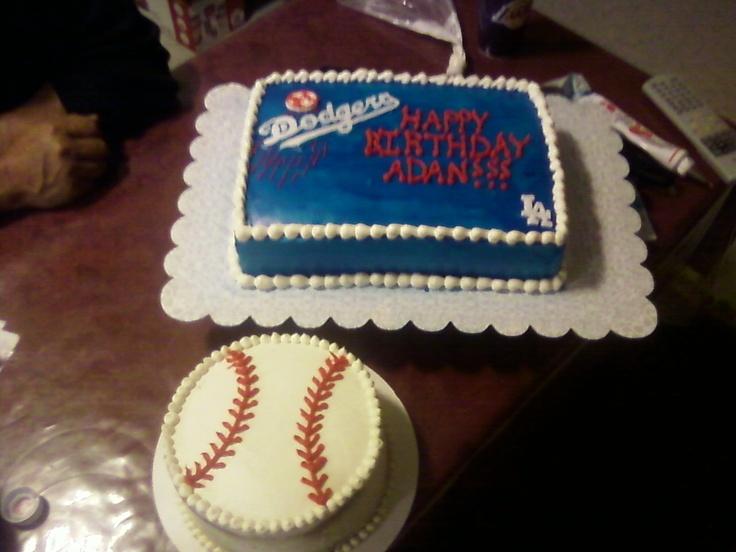 La Dodgers Cake Decorations