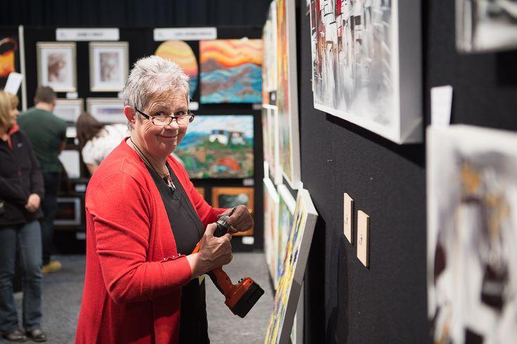 SAW artist Marie Kjestrup - Evans