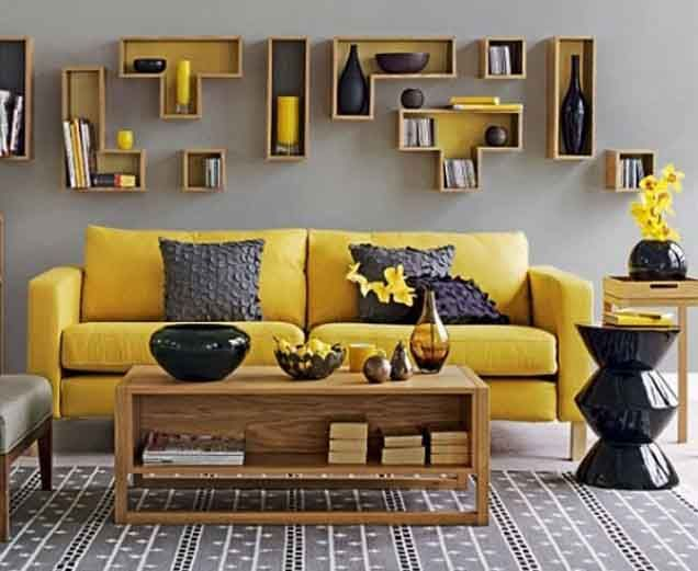 Cara Kreatif Membuat Dekorasi Ruang Tamu Tanpa Lukisan | Aneka ...