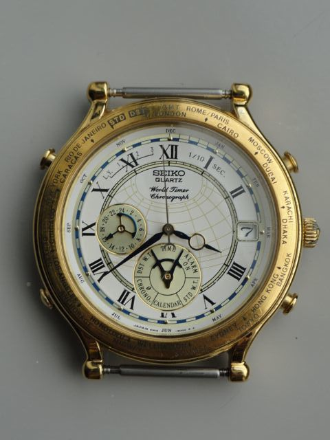 "Seiko ""Age of Discovery World Timer"" Chronograph / Alarm - 6M15-9000B3 - Value?"