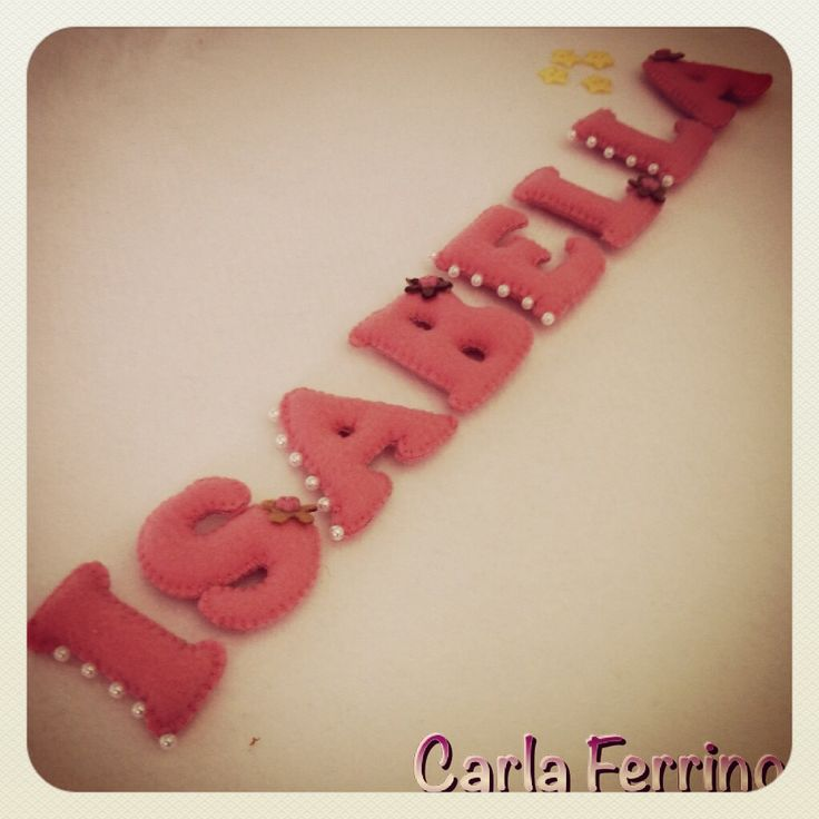 Love... #feltro #felt