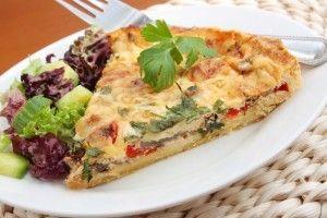 Tarta delicioasa cu legume - Culinar.ro