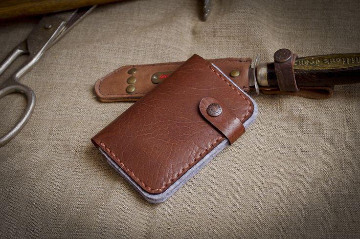 Leather Business & Credit Card Holder / Wallet