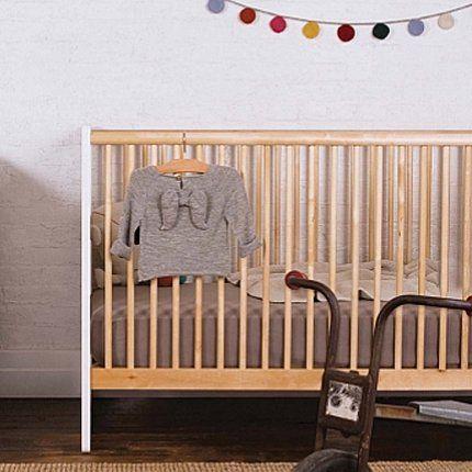 Une chambre de bébé un brin nostalgique
