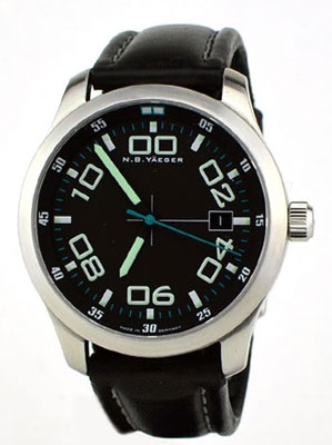 NB Yaeger Delta Automatic Pilot Watch $450