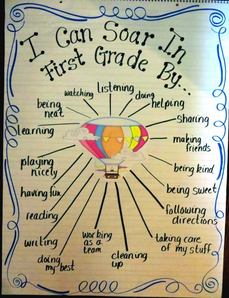First Grade Wow: First Graders are Soaring!