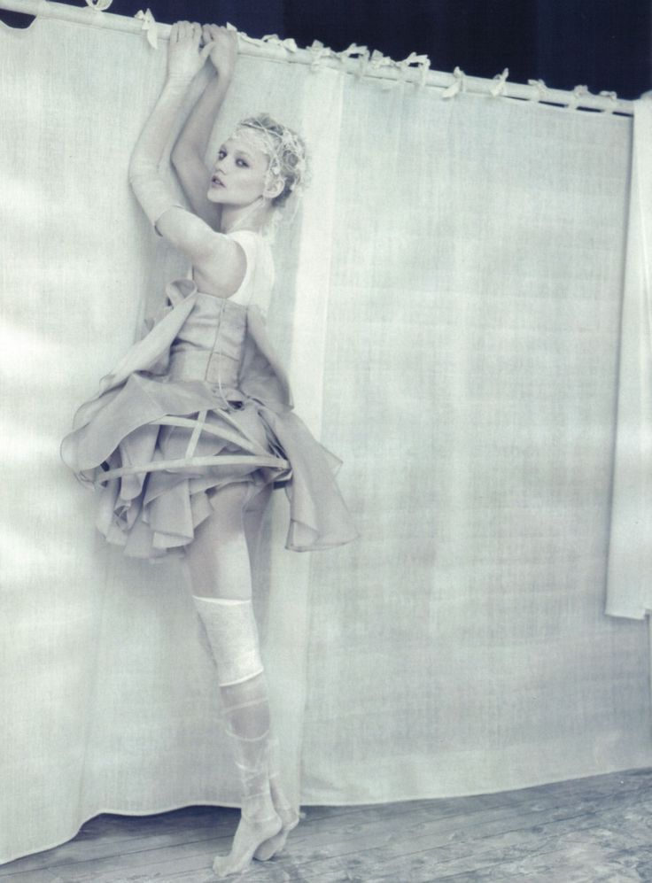 @Paolo Roversi  - The white story