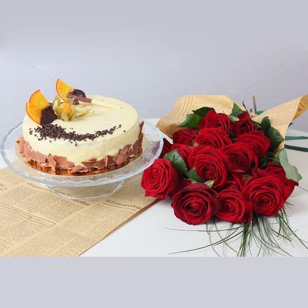 Tortul Stracciatella, alaturi de un buchet al emotiilor si fericirii, oferit in dar jumatatii dumneavoastra, este de departe cel mai rafinat cadou. O surpriza dulce si plina de farmec pentru femeia care conteaza cu adevarat!  Cadoul potrivit pentru persoana iubita de Valentine's Day. Pret unitar : 350 lei / BUC