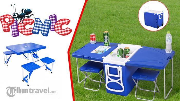 Meja Piknik Lipat - Ini Dia Solusi Canggih Biar Liburannya Bebas Ribet