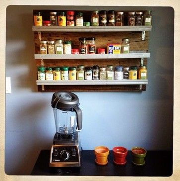 Reclaimed Wood Spice Rack - eclectic - Food Containers And Storage - Other Metro - Reclaimed Things, LLC