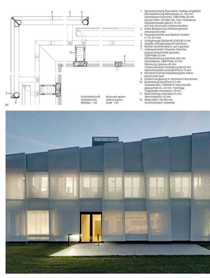 Best Of DETAIL Facades. Facade EngineeringDetails MagazineDetailed Drawings Architecture ...